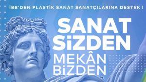 İBB'den plastik sanat alanındaki sanatçılara destek