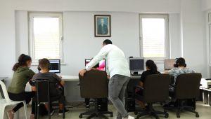 Silivri Belediyesi köylerde EBA erişim noktası kurmaya başladı