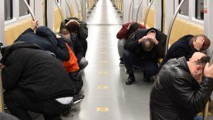 İstanbul metrosunda deprem tatbikatı