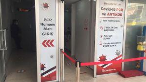 Kolan Hastanesi Kovid-19 testini hastane dışına taşıdı