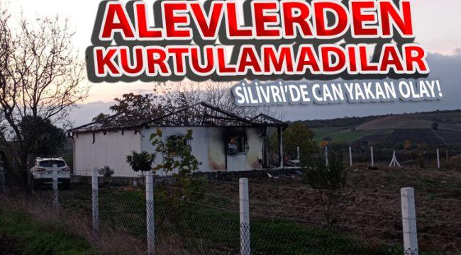 Silivri'de yangın 2 çocuk hayatını kaybetti