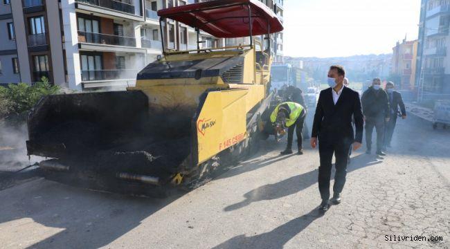 2020 yılında 93 bin 200 ton asfalt döküldü