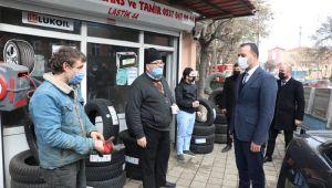 Başkan Yılmaz, Kavaklı'da vatandaşlarla görüştü!