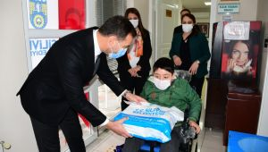 Silivri belediyesi engelli bireyleri unutmuyor
