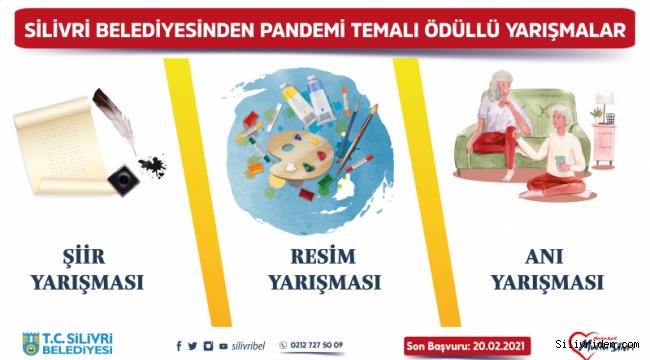Silivri Belediyesi pandemi konulu yarışma düzenliyor