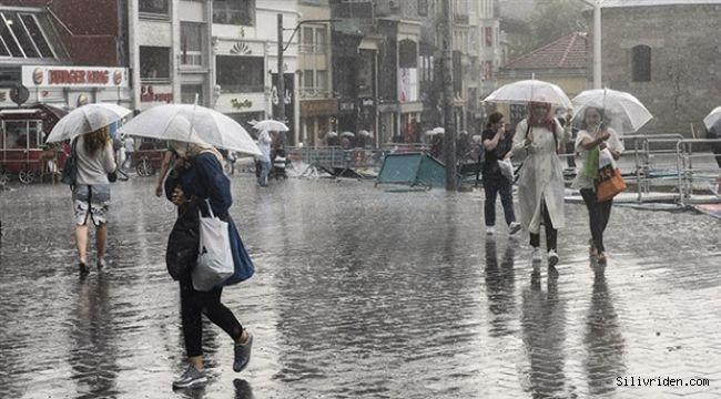 Yağış Silivri ve Çatalca'dan başlayacak, İstanbul'a yayılacak