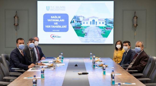 2021 yılı sağlık yatırımları toplantısı yapıldı