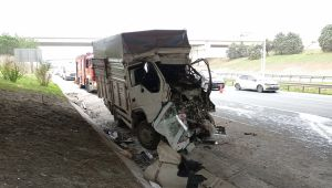 Silivri TEM'de kaza: 1 ölü