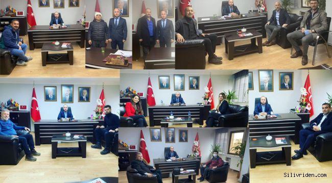 MHP Silivri'ye ziyaretçi akını