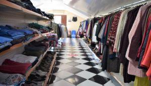 Sosyal Yardım Mağazası yeniden hizmete açıldı