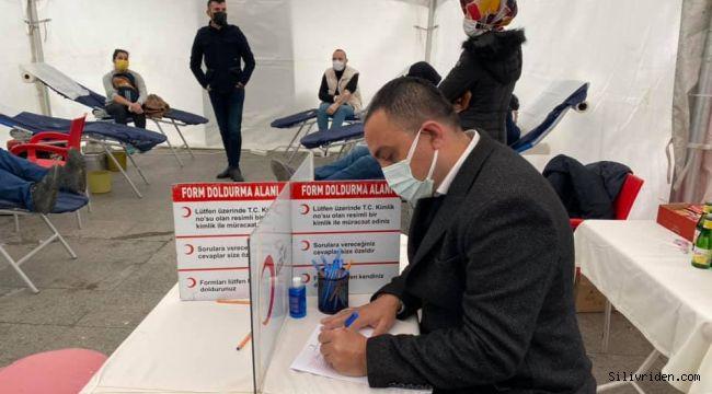 Silivri Ülkü Ocakları'ndan kan bağışı kampanyası