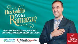 Yılmaz'dan ramazan ayı mesajı