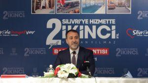 Başkan Yılmaz'dan Silivri'ye hizmette 2. Yıl toplantısı