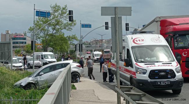 Silivri'de kaza: 1 yaralı