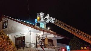 Silivri'de müstakil evde çıkan yangın korkuttu