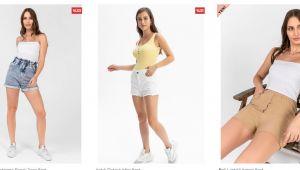 Kadın Şort Modelleri ile Yaz Günlerinde Rahat Edin!