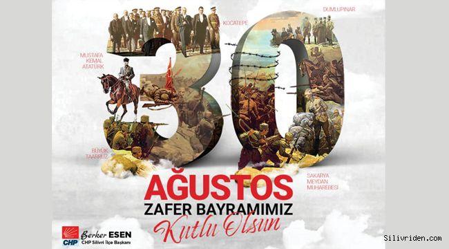 Berker Esen'in 30 Ağustos mesajı