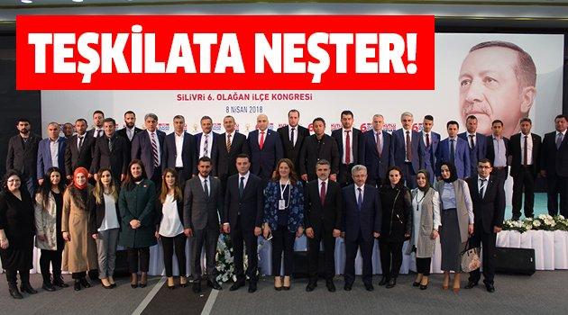 AK Parti Silivri'de Bozoğlu dönemi başladı
