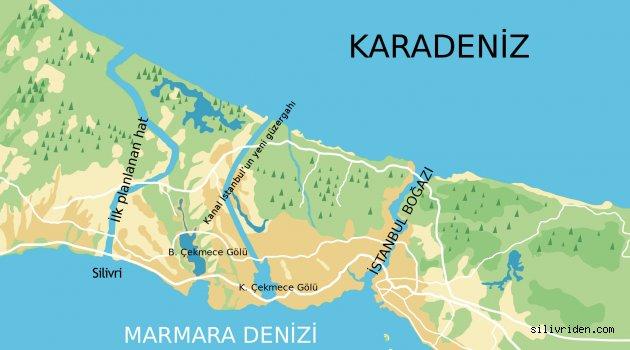 Kanal İstanbul Çatalca'da olabilir