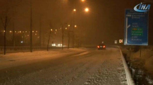 Kar İstanbul'a yaklaşıyor