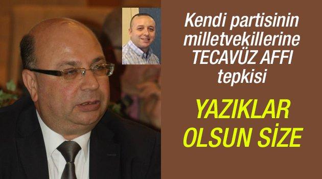 AK Partililerden kendi vekillerine tepki