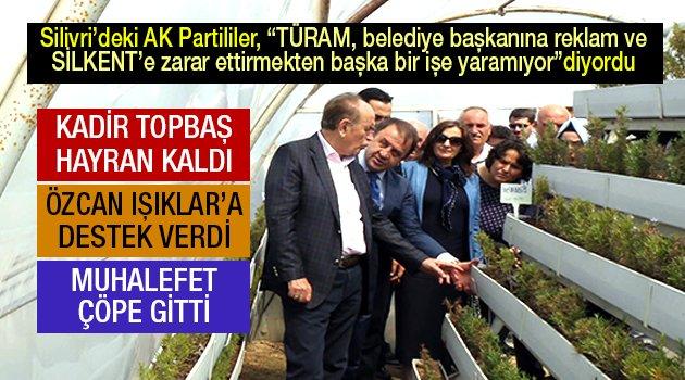 AK Parti'nin eleştirdiği projeye Topbaş'tan destek