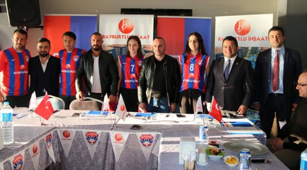 Bayburtlu İnşaat Silivrispor'a sponsor oldu