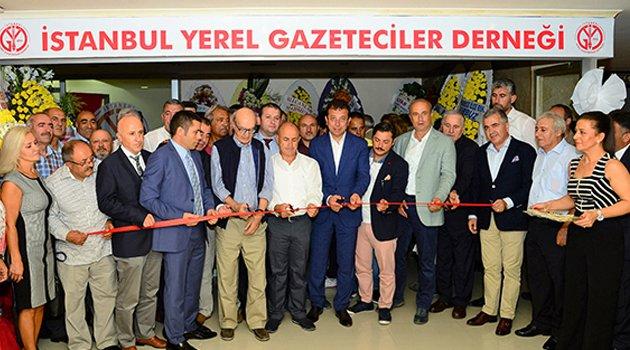 Gazeteciler Derneği ve konferans salonu açıldı
