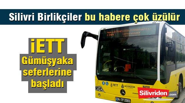 İETT otobüsleri Gümüşkaya'da