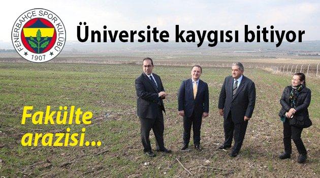 İşte Fenerbahçe Üniversitesi'nin arazisi
