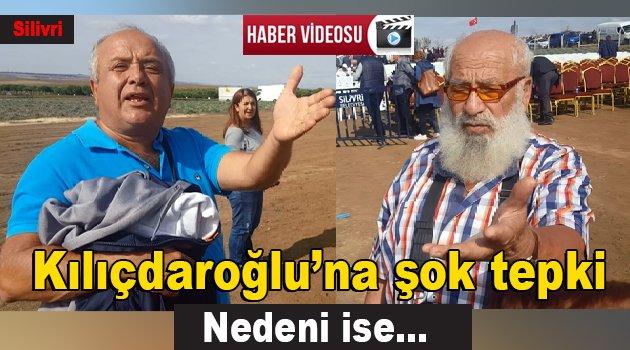 Kılıçdaroğlu'na vatandaşlar tepki gösterdi
