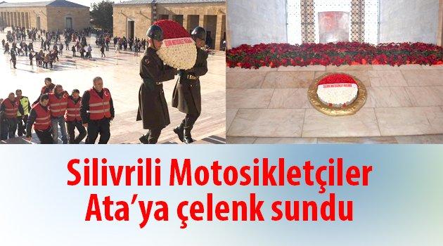 Motosiklet Kulübü Ata'nın huzurunda