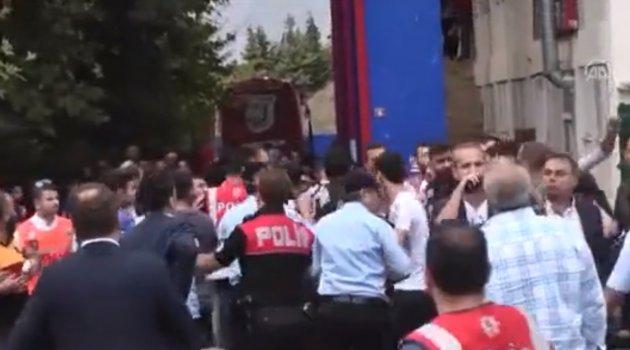 Silivrispor stadında olay çıktı
