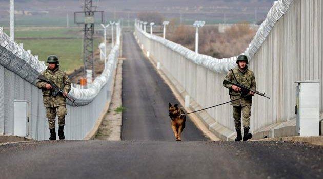 Suriye sınırına 911 km'lik Türk Seddi