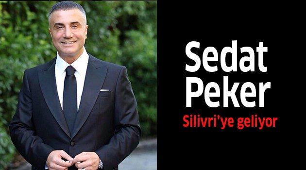 Sedat Peker Silivri'ye geliyor