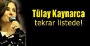 Tülay Kaynarca yeniden listede
