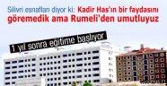 Silivri Rumeli Üniversitesi 1 yıl sonra