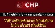 AKP teröre hizmet ediyor