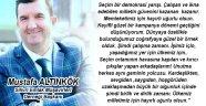Mustafa Altınkök seçim mesajı yayınladı