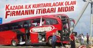 Otobüs firmasını teşhir serbest