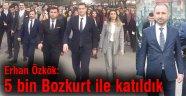 Özkök, '5 bin Bozkurt ile katıldık'