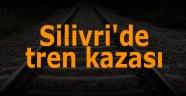 Silivri'de tren kazası