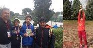 Tenis'te gururumuz oldular