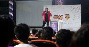 Selçuk Kıroğlu Odak Okulları'nda seminer verdi