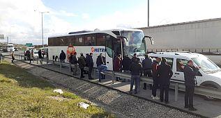 Silivri'de zincirleme kaza: 2 yaralı
